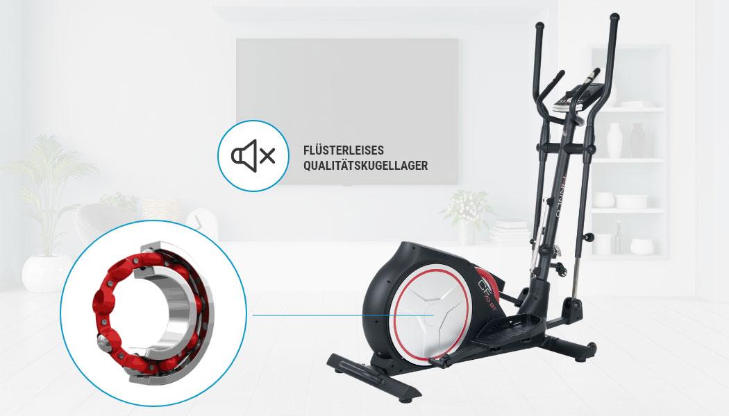 ᐅ CleverFold CF70 Crosstrainer + Hersteller-Premium-Service