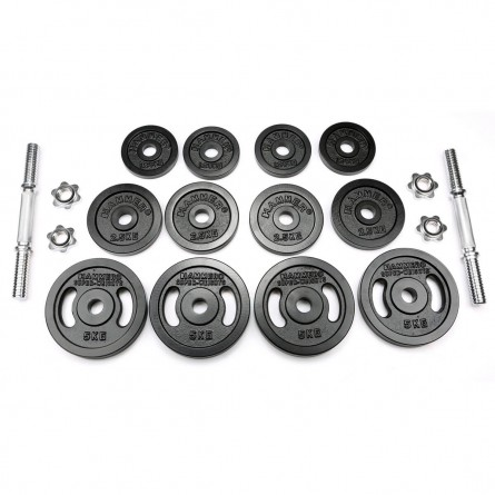 Kurzhantel-Set 40 kg , Eisen