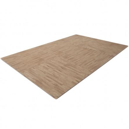 Bodenschutzmatte Holzoptik (Puzzlematte)