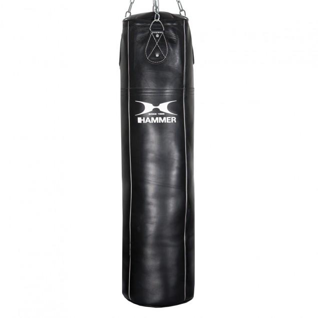 Boxsack Premium Rindsleder Professional von HAMMER BOXING