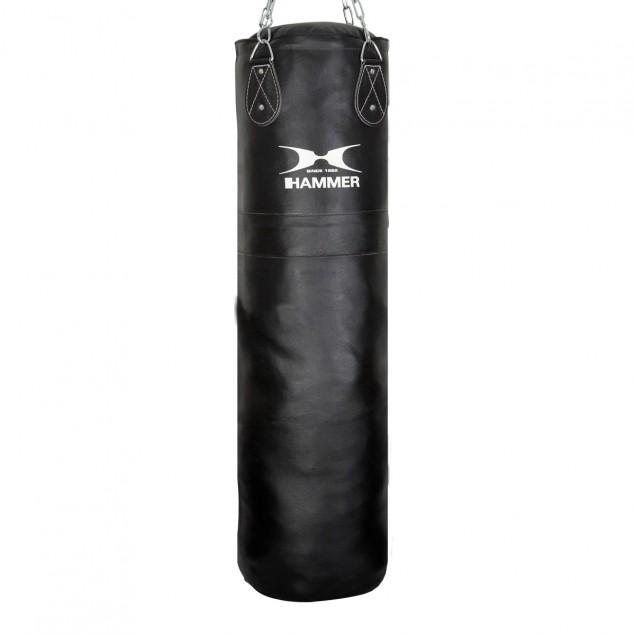 Boxsack Leder Premium von HAMMER BOXING