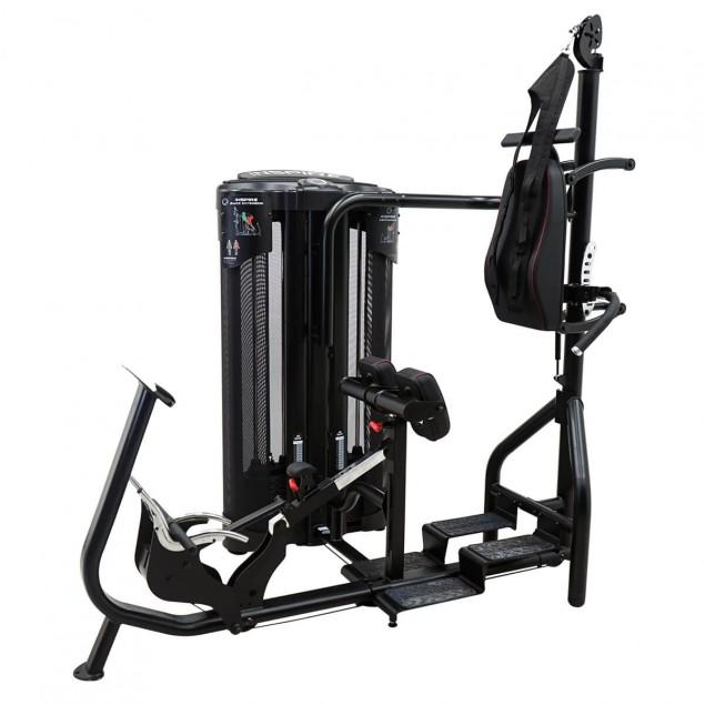 Multi gym  Dual station abdos et dos de INSPIRE by HAMMER