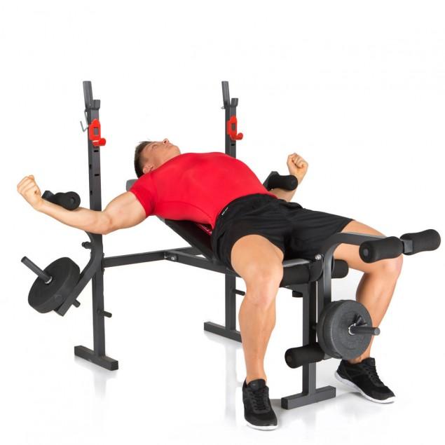 Banc de musculation Bermuda de HAMMER avec des poids 25 kg ...