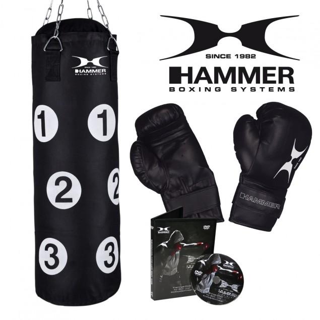Kit de Boxe  Sparring Fit Boxsack + Boxhandschuhe de HAMMER BOXING