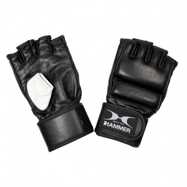 Gants pour sac de frappe Premium MMA en cuir  de HAMMER BOXING